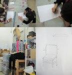 Zoe-i-Allegra-prparen-coixins-cadira