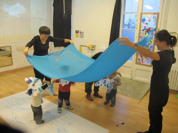 taller d'art per nadons